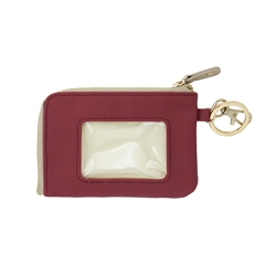 ID Case - Crimson with Tan and Gold Accents
