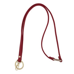 Mix & Match Lanyard - Red with Gold Accents