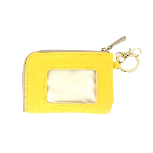 ID Case - Yellow with Tan and Gold Accents