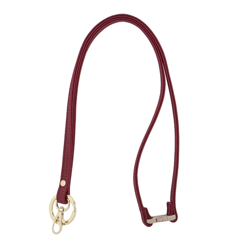 Mix & Match Lanyard - Crimson with Gold Accents