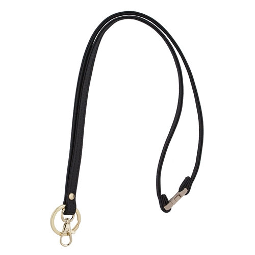 Mix & Match Lanyard - Black with Gold Accents