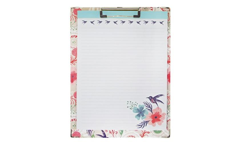 Clipboard and Paper Set - Morning Dew