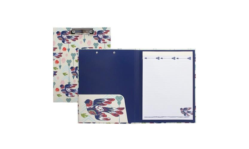 Padfolio with Clipboard - Dove