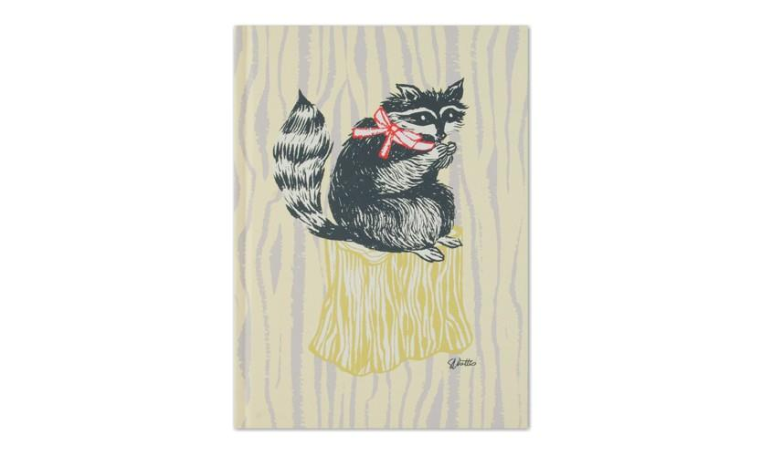 Woodland Journal - Raccoon