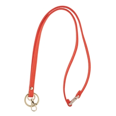 Mix & Match Lanyard - Orange with Gold Accents