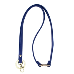Mix & Match Lanyard - Royal Blue with Gold Accents