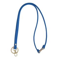 Mix & Match Lanyard - Light Blue with Gold Accents