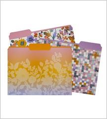 File Folder Set - Paintbox Floral