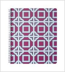 Sprial Notebook - Pink Charmer