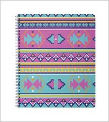 Sprial Notebook - Aztec