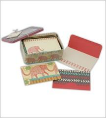 Note Card Tin Set - Elephant