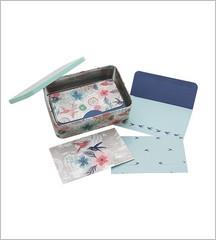Note Card Tin Set - Morning Dew
