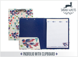 Padfolio with Clipboard